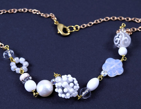 Necklace snowflake