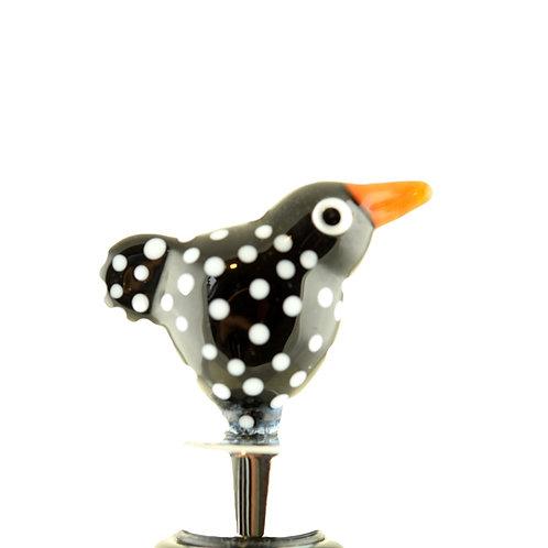 Bottle stopper Black bird