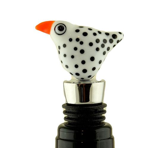 Bottle stopper Blackdot Bird