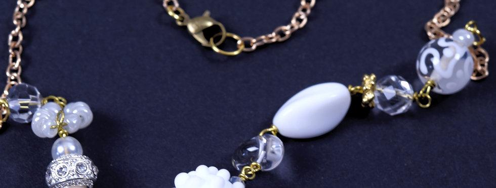 Necklace white dream