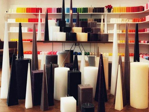 Сила цвета свечей