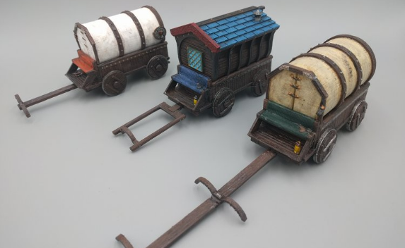 Large wagons