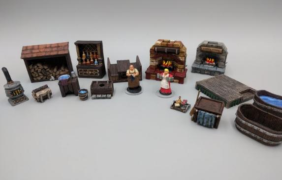 Inn & Tavern set 2