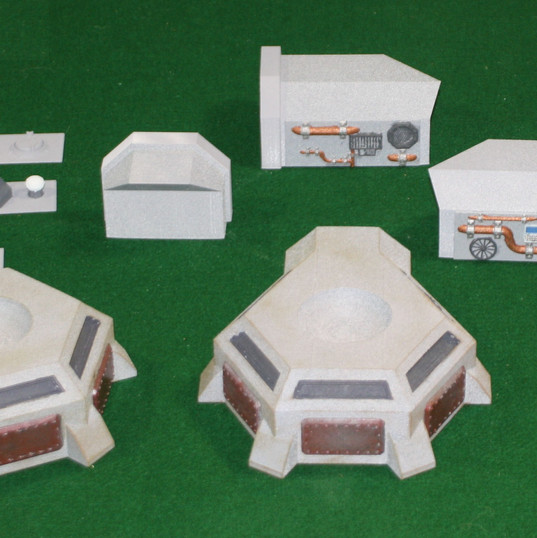 Pill Boxes with Ion Cannon