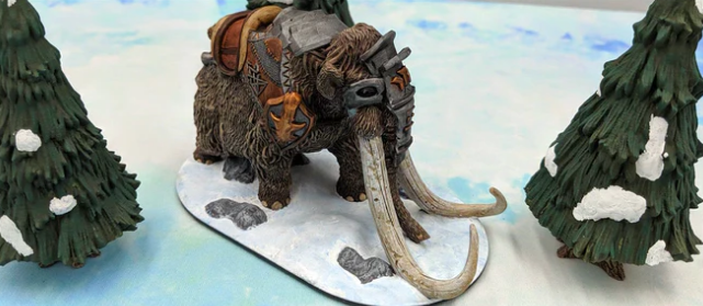 The Wilds of Wintertide mammoth