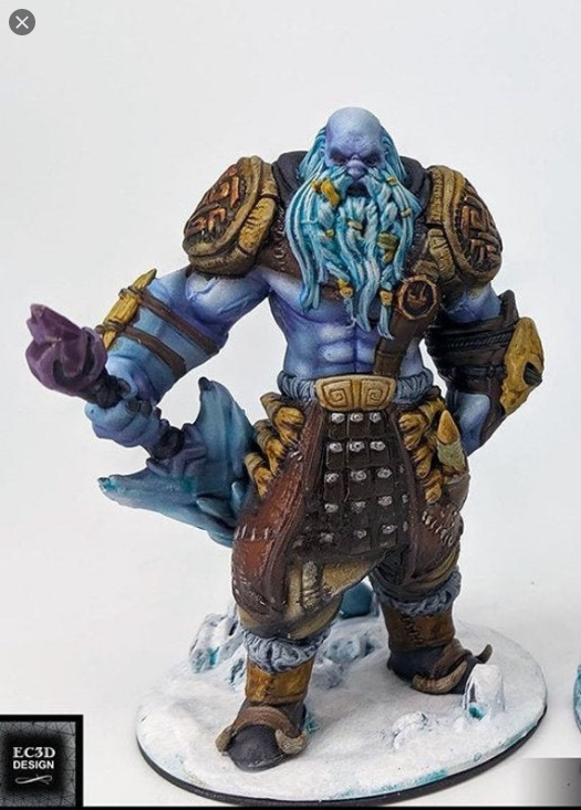 wilds of wintertide Frost giant