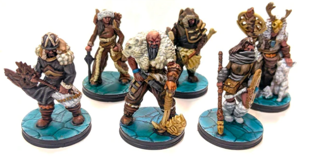 The Wilds of Wintertide barbarians