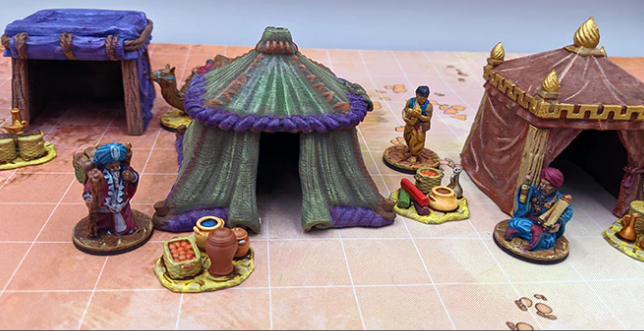 Empire of Scorching Sands Nomad Tents & minis