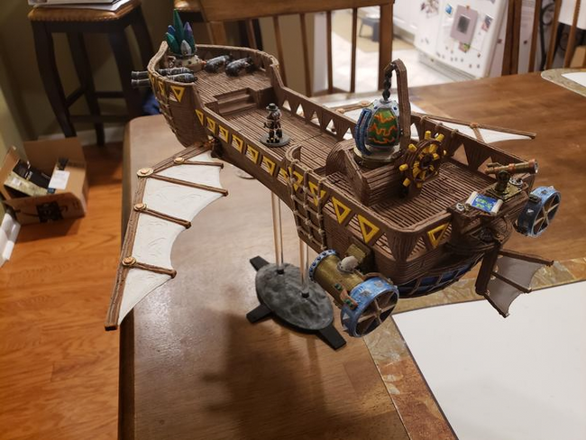 Airship from Oakenspire