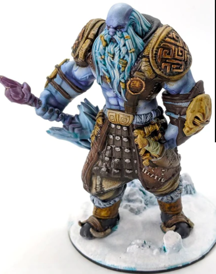The Wilds of Wintertide frost giant