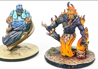 Empire of Scorching Sands Djin