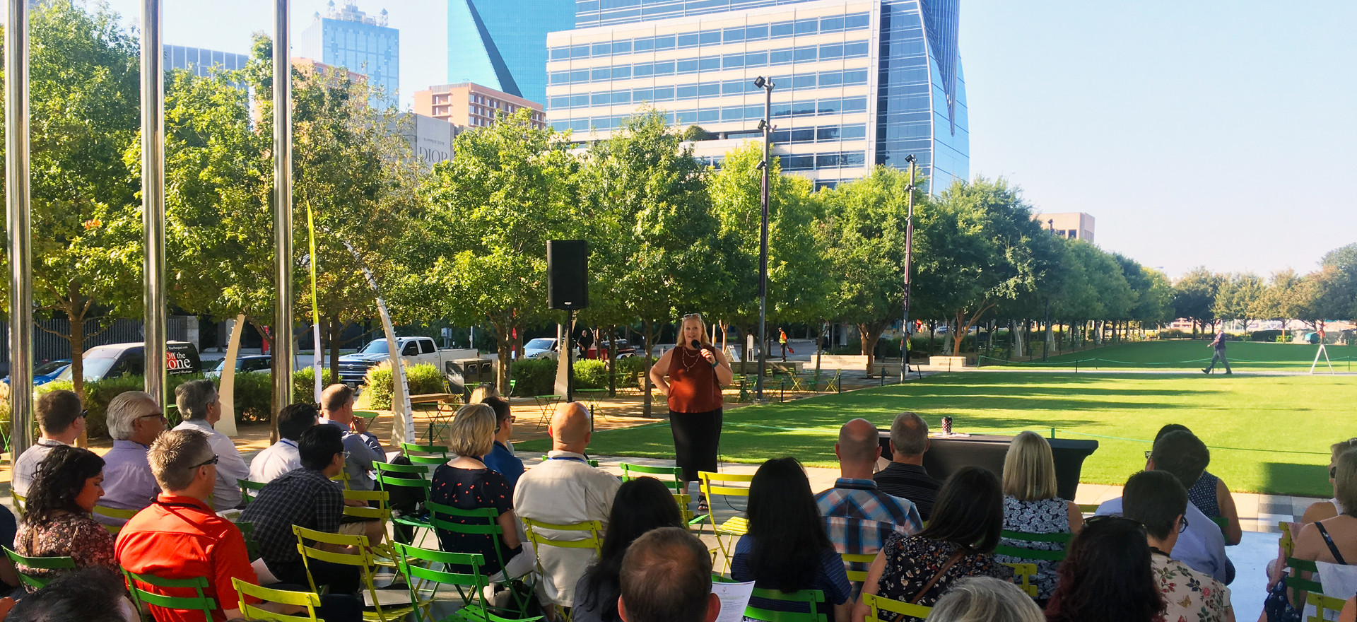 Placemaking and Activating Klyde Warren Park