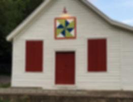 Dutchman's Windmill barn quilt | Huffman Store, Craig County VA