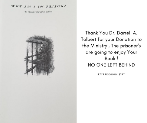 Thank You Dr. Darrell A. Tolbert for you