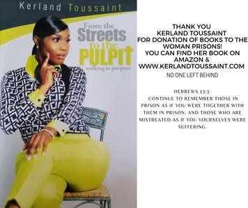 Thank you Kerland Toussaint