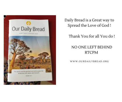 Daily Bread is a Great way to Spread the