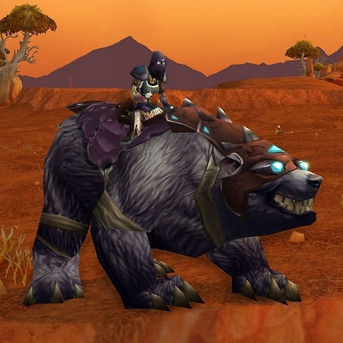 BLACK WAR BEAR