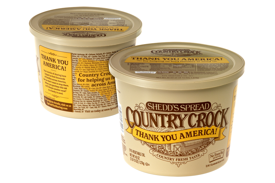 Country Crock Thank You Tub