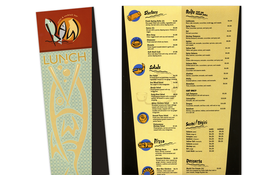 Menu Illustrations