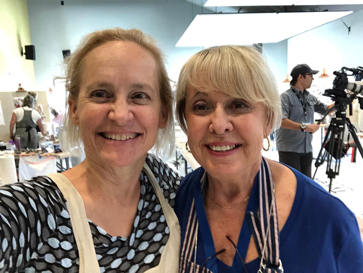 With Nancy Hillis  October 2019