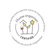 Certification Home Organiser