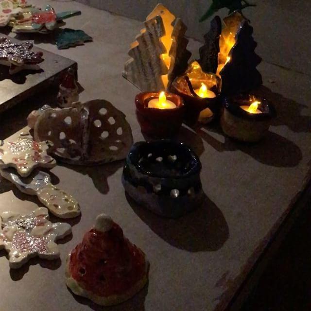 Kid's ceramic creations