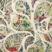 Paisley pattern close ups