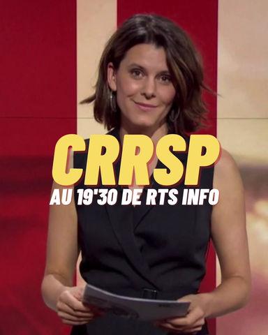 CRRSP passe dans le reportage foodtech 19'30 sur la chaîne RTS 🚀