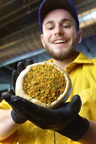 champignons artisanals garnis de mozarel