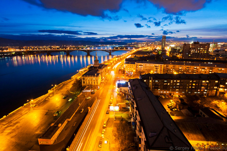 Krasnoyarsk was our favorite Velonotte in 2017