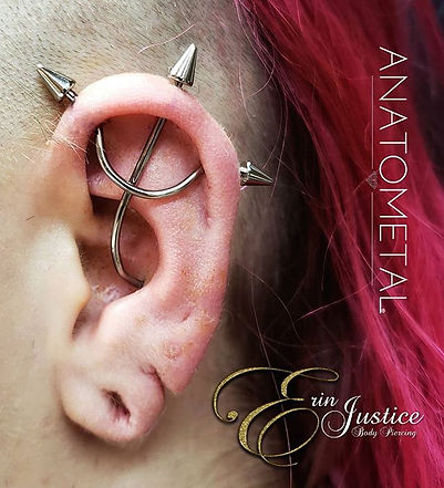 #earproject #tridentpiercing _anatometal