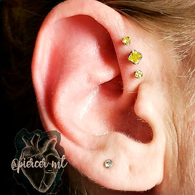This beautiful forward helix features pr
