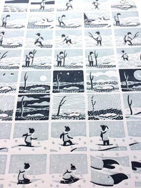 Trophy - Letterpress Print