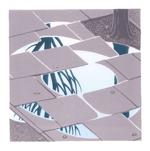 Puddle - Lithographic Prints