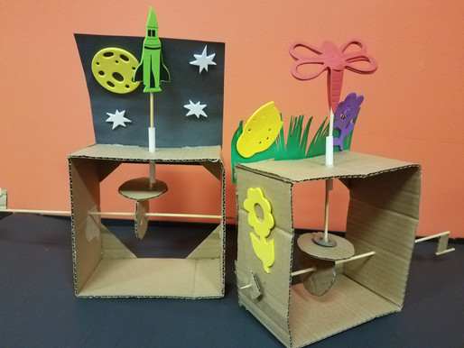 STEAM in the Classroom with CARDBOARD AUTOMATA!