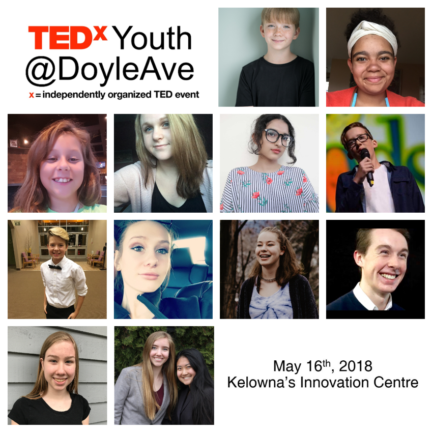 1 - TEDxYouth Speakers