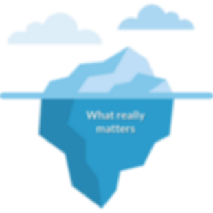 What really matters iceberg.png