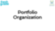 Portfolio Organization.PNG
