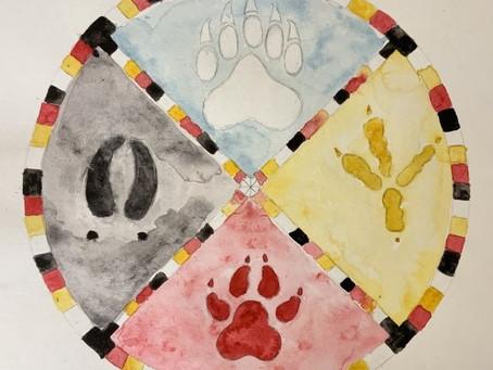 Indigenous Art Lesson Project