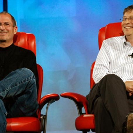 Стив Джобс, Билл Гейтс. Профессия в натальной карте