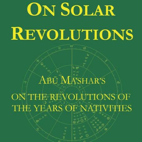 О солнечных обращениях Абу Машара