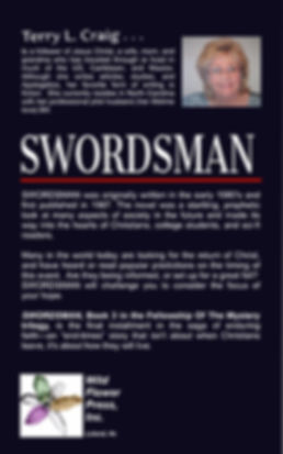 Swordsman Back Cover