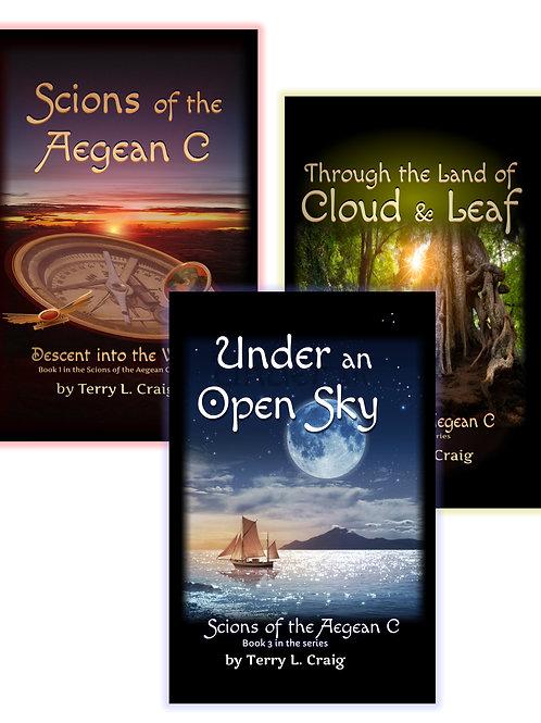Scions Bundle, Books 1, 2, & 3