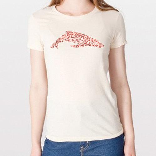 Women's Whaledot Coral