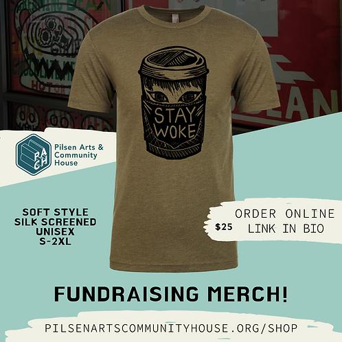 STAY WOKE - Exclusive T-Shirt