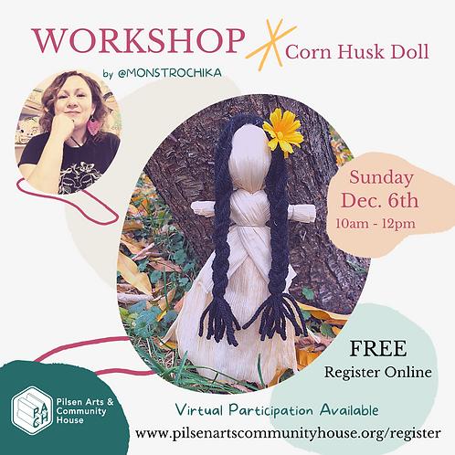 Corn Husk Doll - Workshop