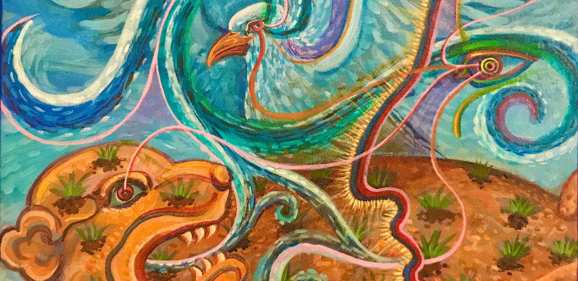 Mario Castillo Painting