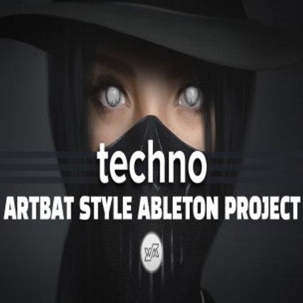 ARTBAT style ableton template