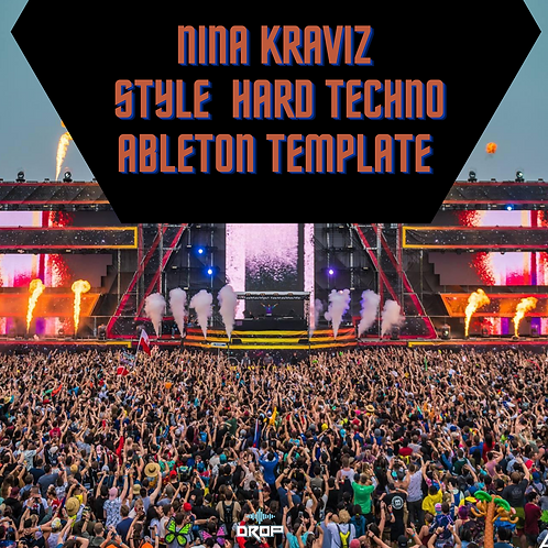 Ninz Kraviz Style Hard Techno Ableton Template