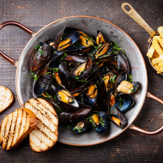 Purchased on Canva_Mussels and frensh fr
